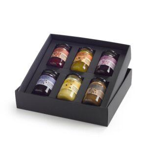 Callas Confiture ontbijtcollectie gift box confituur, choco, honing